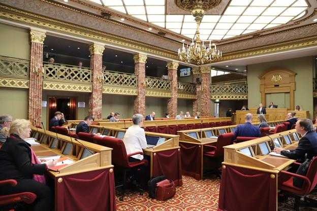 Les députés ont adopté le premier volet du plan de stabilisation de l'économie. (Photo : Chambre des députés)