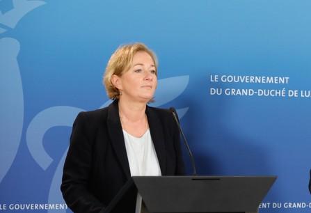 La ministre de la Santé a reprécisé certaines mesures prises dimanche par le gouvernement. (Photo: Romain Gamba /Maison Moderne/archives)
