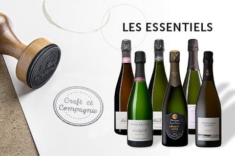 Champagnes d'artisans: les Essentiels de Craft et Compagnie ( Crédit Photo : Craft et Compagnie )