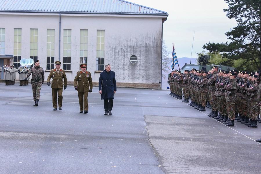 Le chef d'état-major des armées, le général Alain Duschène, a demandé et obtenu sa démission, fin janvier. (Photo: ministère de la Défense)