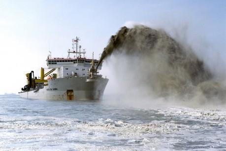 L'entreprise de dragage maritime se porte bien. (Photo; Jan De Nul / Archives)