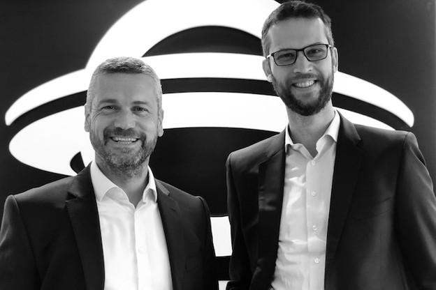 Aidan McClean et Renaud Marquet, les deux cofondateurs d'UFODrive. (Photo: UFODrive)
