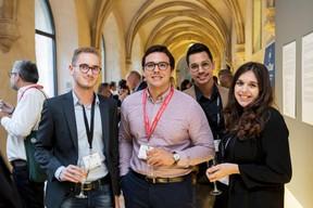Soren Chlosta (PwC), Pierre-Baptiste Feyhl, Alexis Fernandes et Joyce Djian (Maison Moderne) ((Photo: Jan Hanrion / Maison Moderne))
