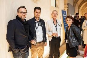 Emmanuel Vivier (HUB Institute), Filipe Oliveira (Lola Communication), Simône van Schouwenburg (BCEE) et Vicky Dos Santos (Ketterthill) ((Photo: Jan Hanrion / Maison Moderne))