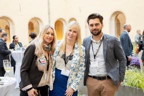 Stéphanie Bourhis (Sophrologue Hypnothérapeute), Linna Karklina (LK Real Estate) et Nicolas Leclere (Real Estate) ((Photo: Jan Hanrion / Maison Moderne))