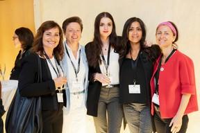 Catherine Papp (Key-Way), Gaetane Meilleur (AIBM), Norma Bello Cortes (JES'tudio) et Genevieve Chabot (Pami) ((Photo: Jan Hanrion / Maison Moderne))