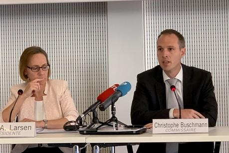 La présidente de la CNPD, Tine A. Larsen, a proposé à la police la création d'un comité ad hoc. C'est son commissaire, Christophe Buschmann, qui représentera le «gendarme de la protection des données» dans ce groupe de travail. Sans vouloir le diriger. (Photo: Paperjam)