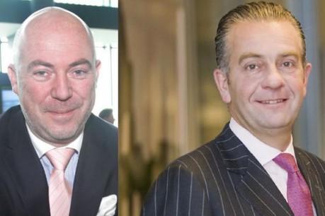 Lou Kiesch (Deloitte), à gauche, et Bob Kneip (Kneip) (Photo: archives paperJam)