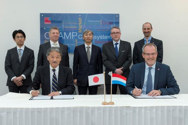 Cargo Community System Japan signs with Champ Cargosystems for new air cargo distribution platform. (Photo: Champ Cargosystems)