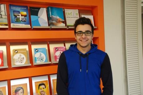 José Carlos Iglesias Correia a reçu le Prix Rotary du meilleur apprenti 2014. (Photo: Chambre des Métiers)