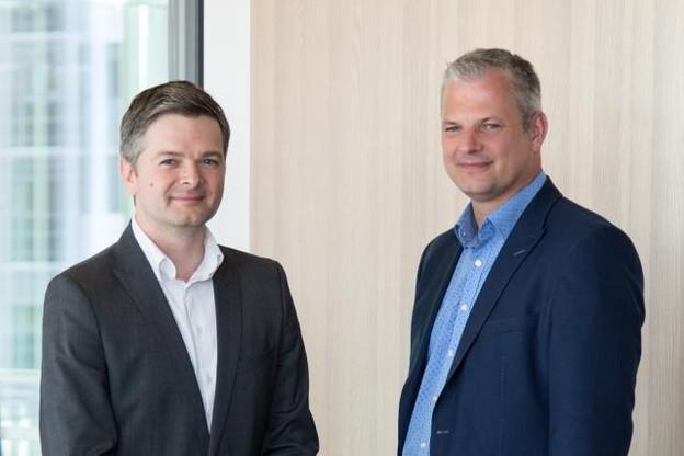 Marton Fulop et Karoly Papp (Photo: Docler Holding)