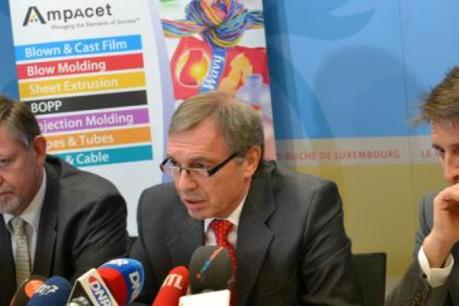 Signature d'une convention avec AMPACET Luxembourg (Photo : MECE)
