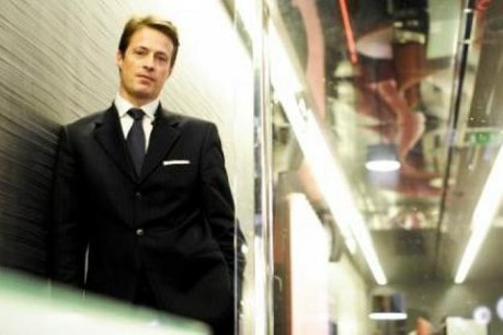 Olivier Bastin, managing director de Jones Lang LaSalle. (Photo: David Laurent/Wide/archives)