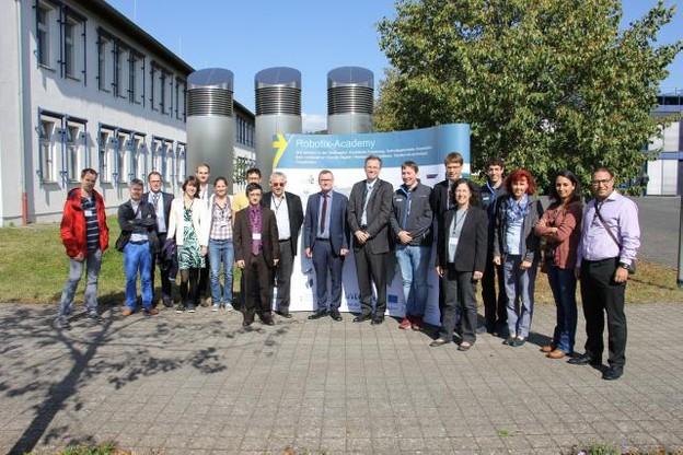 Le Robotix-Academy a été lancé comme centre de recherche transfrontalier en robotique industrielle. (Photo: Université du Luxembourg)