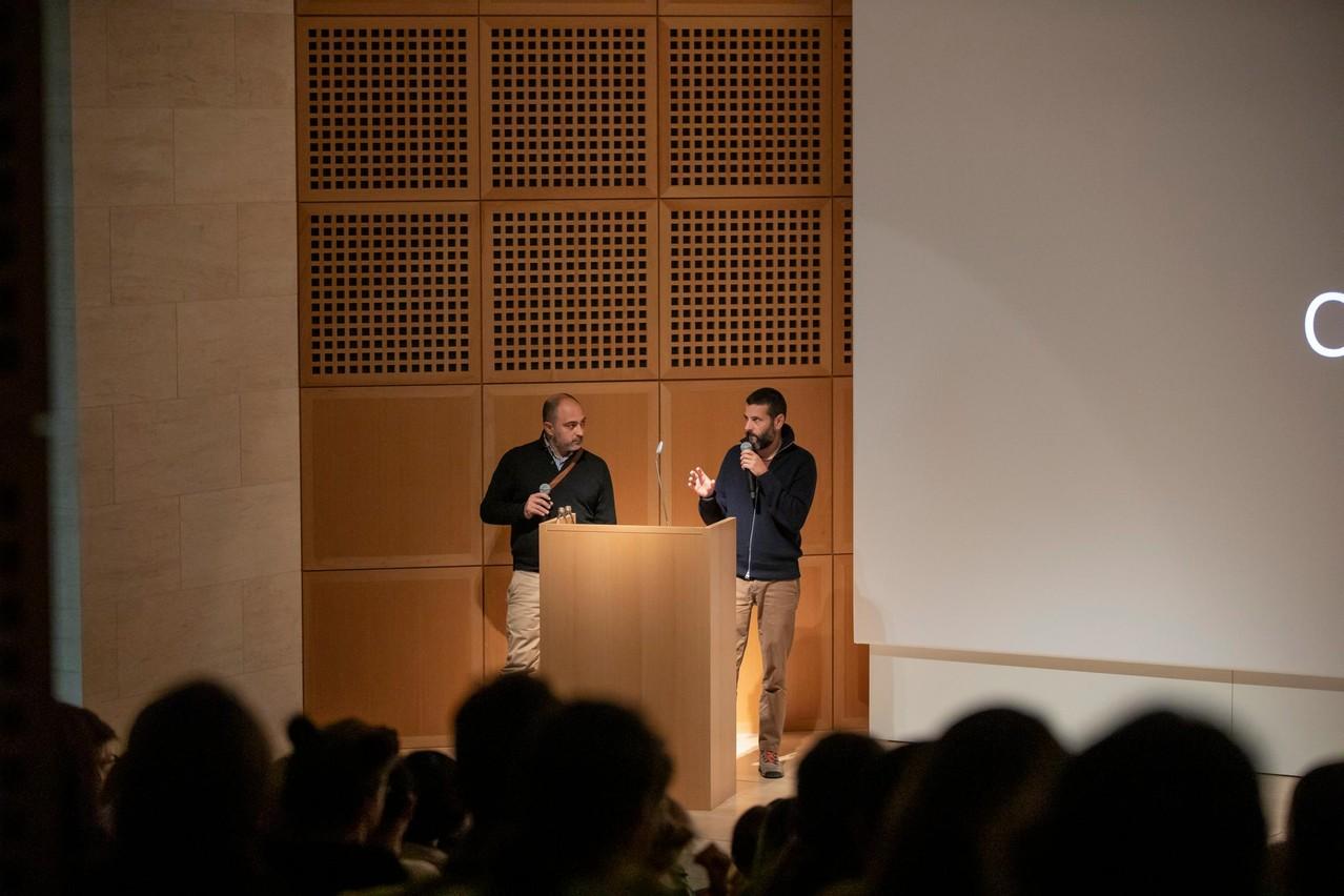 Rafa Martínez (Folch Studio) et Albert Folch (Folch Studio) (Photo: Jan Hanrion / Design Friends)
