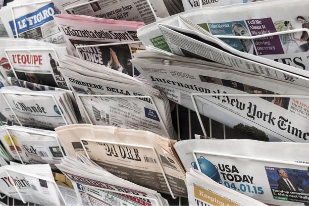 Le niveau moyen de confiance dans l'information en général est en baisse de 2 points, à 42%. (Photo: Shutterstock)