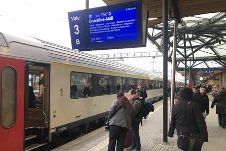 Les contrôles sont systématiques en première classe. Dans la seconde, cela dépend parfois du type de train. (Photo: Paperjam)