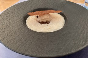 Un dessert tout en souvenirs: riz au lait, spéculoos, vanille et cassonade. ((Photo: Paperjam))