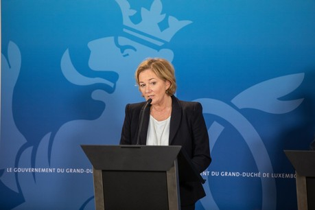 La ministre de la Santé PauletteLenert a annoncéle déploiement de tests sanguins. (Photo: Romain Gamba/Maison Moderne/ a rchives)