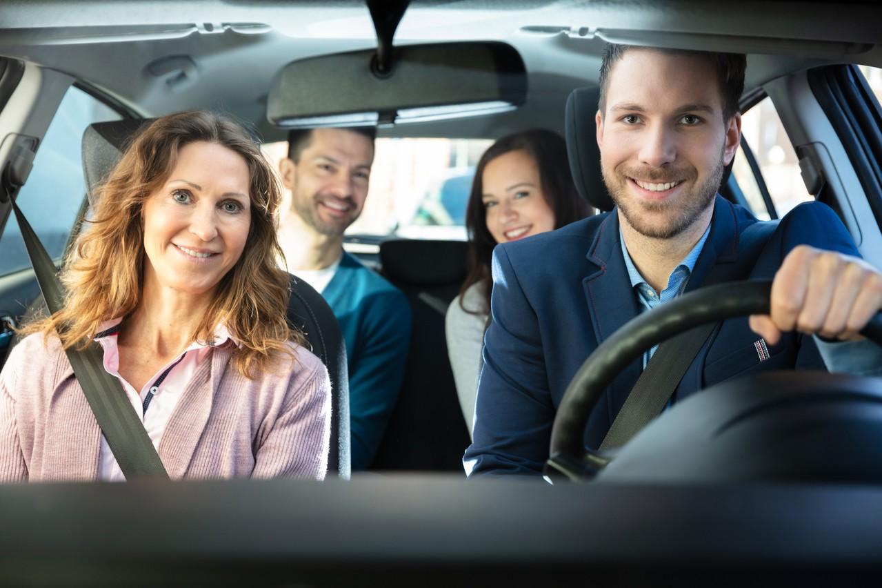 L'ambition du ministre était d'amener le taux de remplissage des voitures qui arrivent à Luxembourg-ville à 1,5 personne d'ici 2025. Klaxit pourra-t-elle mieux faire qu'iDVROOM, qu'elle vient de racheter? (Photo: Shutterstock)