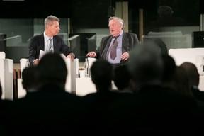 Yuri Bender (Financial Times); Rt Hon Kenneth Clarke (CH QC) ((Photo: Nelson Coelho / @nelsoncoelhofilms))