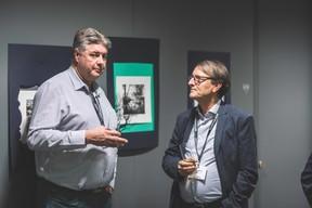 Eric Thilmant (Polygone) et Claude Lange (Victor Buck Services) ((Photo: Arthur Ranzy))