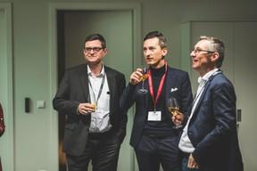 Marc Vandenhoeke (Spuerkeess), Léo Santoro (Maison Moderne) et Emmanuel Ballouhey-Dauphin (Reka) ((Photo: Arthur Ranzy))
