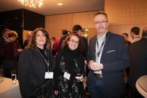 Anne Prisciandaro (publi.lux), Marion Mokhtari (Talantlers) et Michel Baltus (MIXvoip) ((Photo: Jan Hanrion / Maison Moderne))