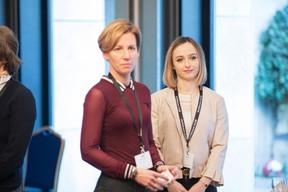 Gwen Tanson (Reflets)  et Emily Zwart (Berlitz) ((Photo: Jan Hanrion / Maison Moderne))