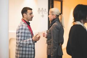 Richard Karacian (Maison Moderne) et Simône Van Schouwenburg (Spuerkeess) ((Photo: Arthur Ranzy))