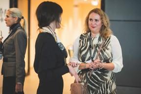 Julie Lhardit (Maison Moderne) et Larissa Thomma (Enjoy Immobilière) ((Photo: Arthur Ranzy))