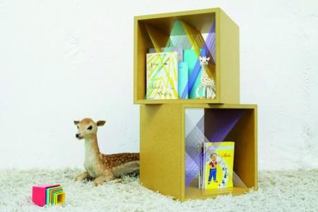 Elsa Rande et ses petits meubles font partie de la sélection du Marché des créateurs.  (Photo: Cécile & Guillaume)