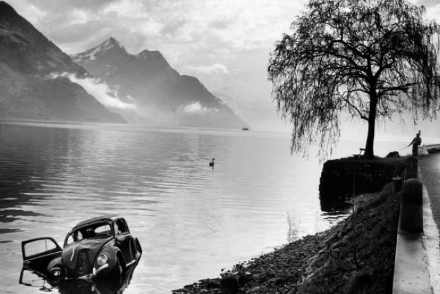 Les images d'accidents d'Arnold Odermatt sont d'une beauté grave. (Photo: Courtesy Galerie Springer-Berlin)