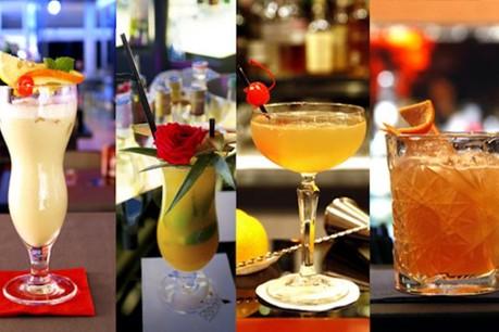 Des couleurs, des saveurs et un air de fête... les cocktails reviennent à grands pas. (Photos: Olivier Minaire et Jessica Theis)