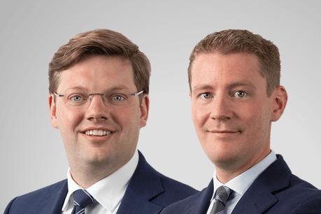Kristof Meynaerts et Martin Wurth viennent étoffer l'équipe des associés de Clifford Chance Luxembourg. (Photo: Clifford Chance Luxembourg)
