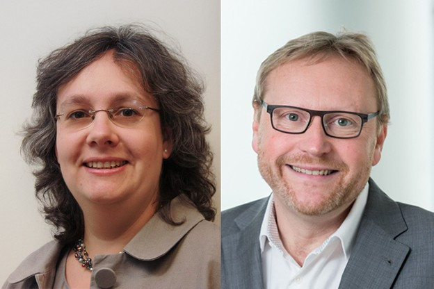 Paola Liszka Draper, senior manager, et Marc Noirhomme, director chez Deloitte Luxembourg. (Photo: Deloitte Luxembourg)