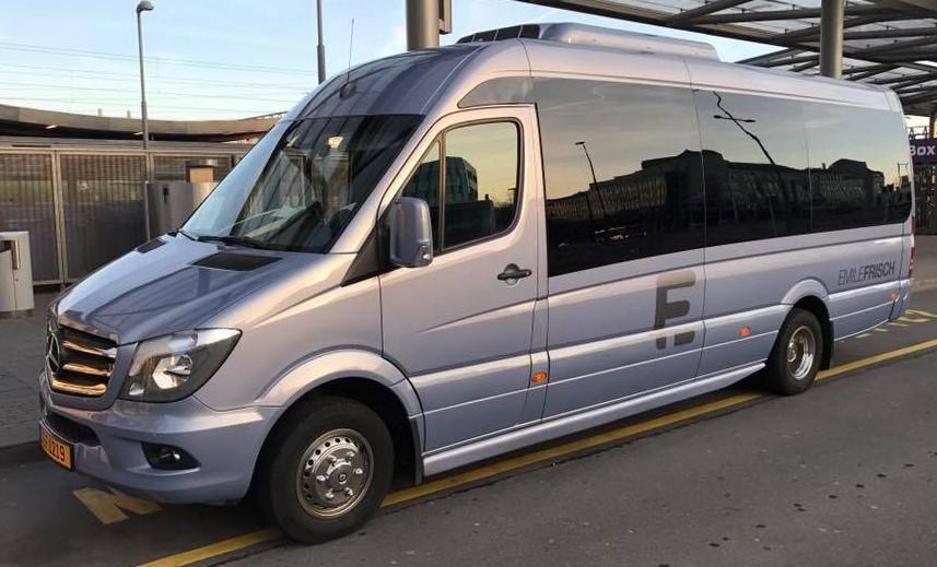 Minibus à louer. (Photo:Autocars Emile Frisch)