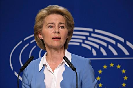 Ursula von der Leyen souhaite tout mettre en œuvre pour limiter la dissémination du virus. (Photo: Shutterstock)