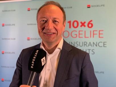 Pascal Denis, KPMG, lors du 10x6 Sogelife: Life insurance insights. Crédit: Maison Moderne