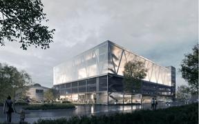 Le projet de 2001 pour le concours du COHS à Esch-sur-Alzette. ((Illustration: 2001))