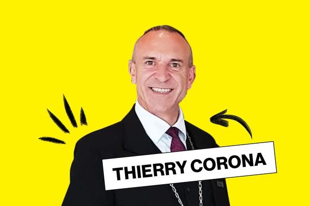 Thierry Corona décrit les vins du Casino 2000 avec enthousiasme depuis 31 ans. (Design: Maison Moderne)