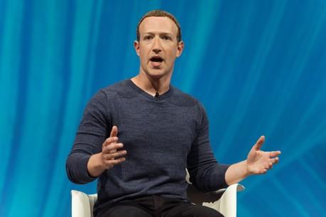 Mark Zuckerberg promet le caractère éphémère des messages postés via les différents services de messagerie du groupe. (Photo: Shutterstock)