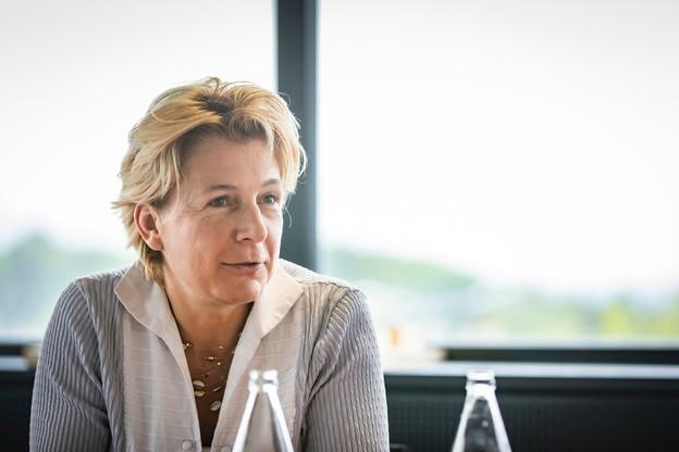 Félicie Weycker est la nouvelle présidente du Fonds Kirchberg. (Photo: Patricia Pitsch/Maison Moderne)