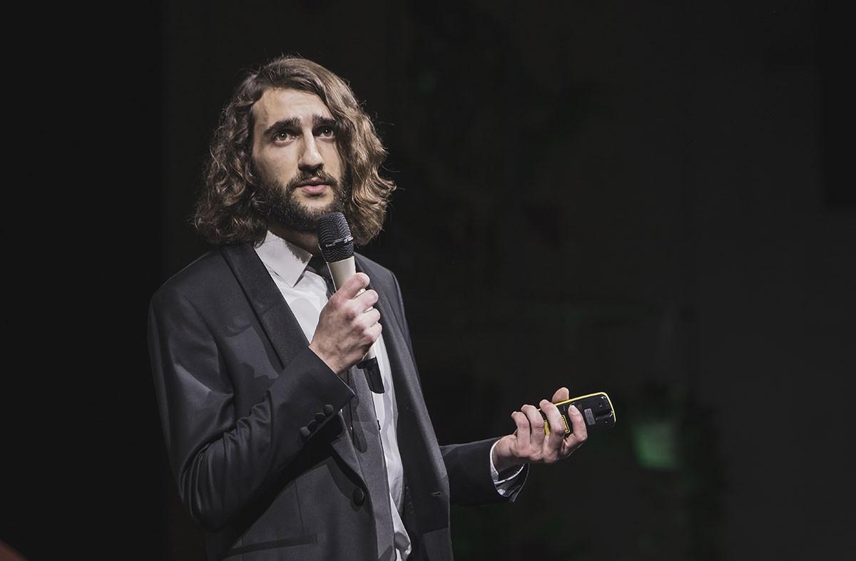 Antoine Granjon, en décembre 2019, à l'occasion de la finale des Start-up Stories. (Photo: archives / Maison Moderne)
