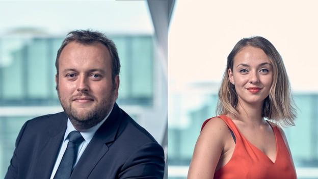 Romain Tisne et Dominique Carbon, Talantlers (Crédit: Olivier Toussaint)