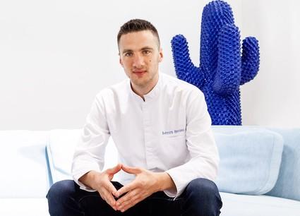 Baptiste Heugens est le Jeune Chef de l'année Gault&Millau 2020. (Photo : Two6Two)