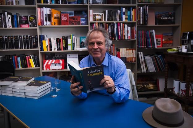 Franz-Olivier est venu chez Alinéa à la rencontre de ses lecteurs luxembourgeois. Une première pour lui. (Photo: Nader Ghavami)