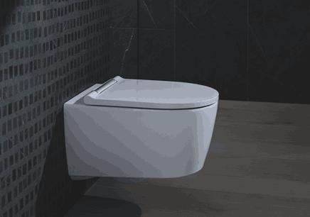 Geberit définit des nouvelles normes de WC. Photo : GEBERIT