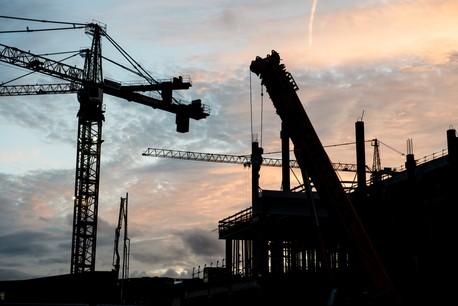 À partir du vendredi 20 mars, les chantiers seront à l'arrêt au Luxembourg. (Photo: Anthony Dehez)