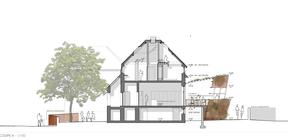 Projet deO3 Architecture pour le gîte à Linger. ((Illustration : O3 Architecture))